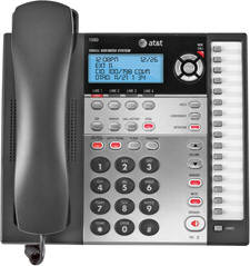AT&T 1080 4 LINE SPEAKERPHONE WITH CALLER ID, CALL WAITING, ITAD AND AUTO-ATTENDANT
