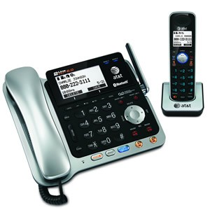 AT&T TL86109 CORDED/CORDLESS TELEPHONE/ANSWERING SYSTEM WITH BLUETOOTH WIRELESS TECHNOLOGY