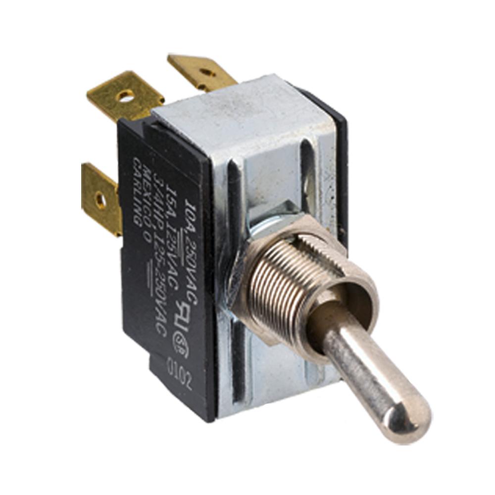Paneltronics Paneltronics DPDT ON/OFF/ON Metal Bat Toggle Switch