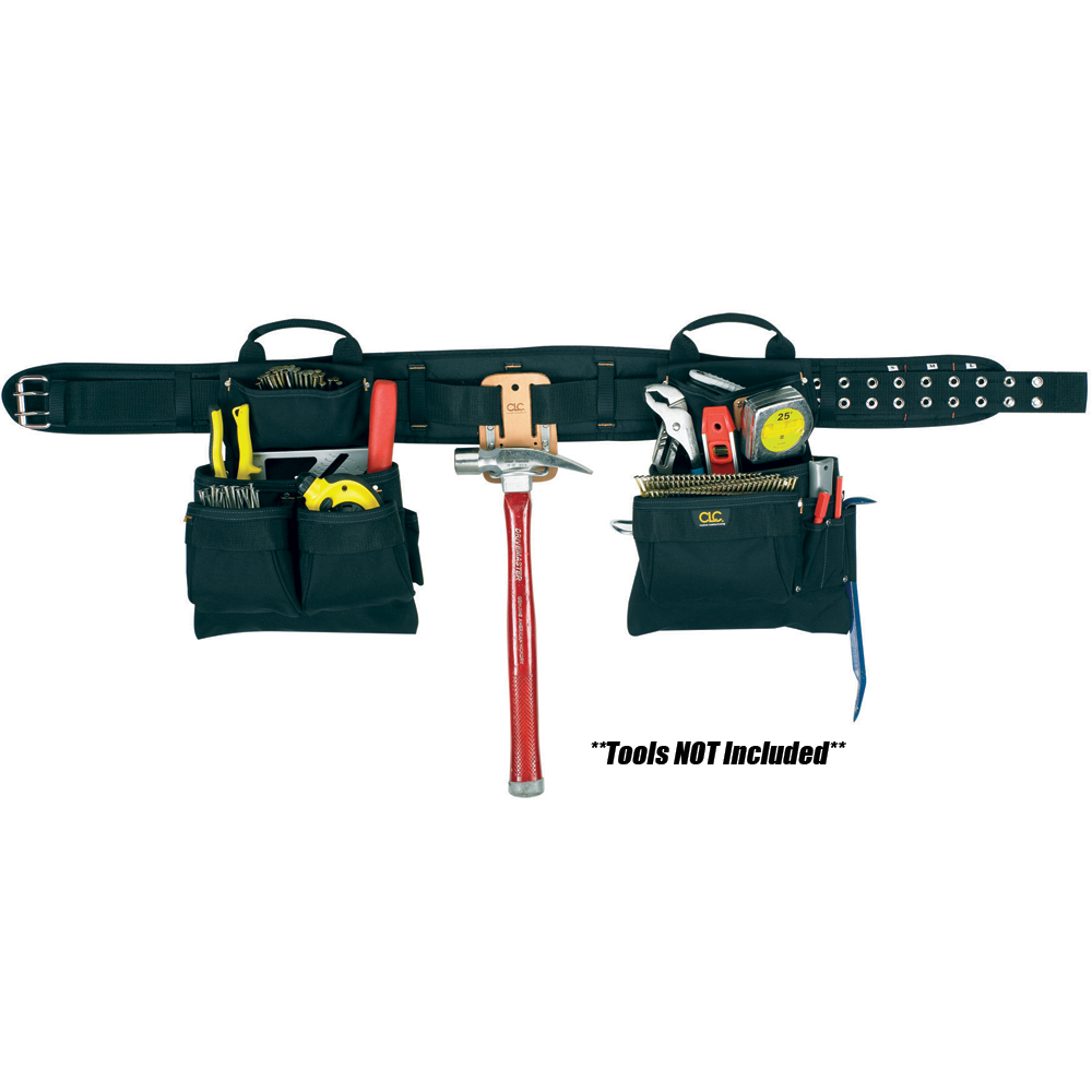 CLC Work Gear CLC 5608 17 Pocket 4-Piece Carpenter's Combo Tool Belt