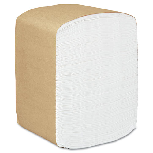 KIMBERLY CLARK 98740 SCOTT Full Fold Dispenser Napkins, 1-Ply, 13 x 12, White, 375/Pack