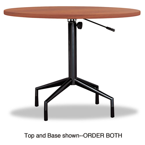 """Safco 2653CY RSVP Series Round Table Top Laminate 36"""" Diameter Cherry"""