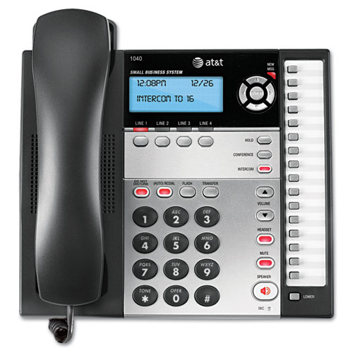 AT&T 1040 Corded Four-Line Expandable Telephone