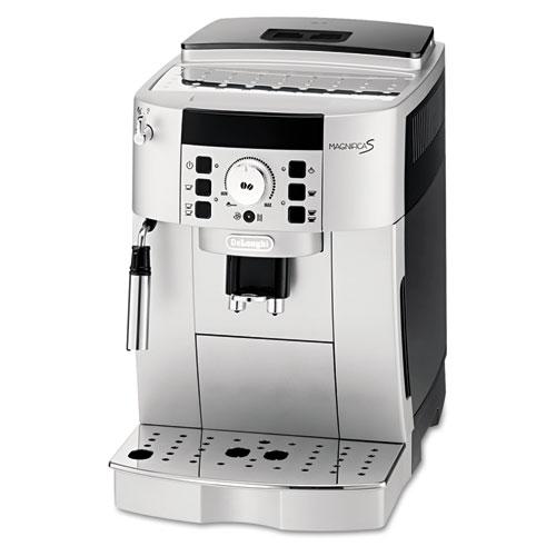 DeLonghi Magnifica S ECAM 22.110.SB Espresso Maker - 1250 W - 15 bar - 1.88 quart Grinder - Coffee Strength Setting - Silver