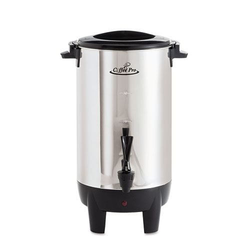 CoffeePro Coffee Makers and Urns 30-Cup Percolating Urn, Stainless