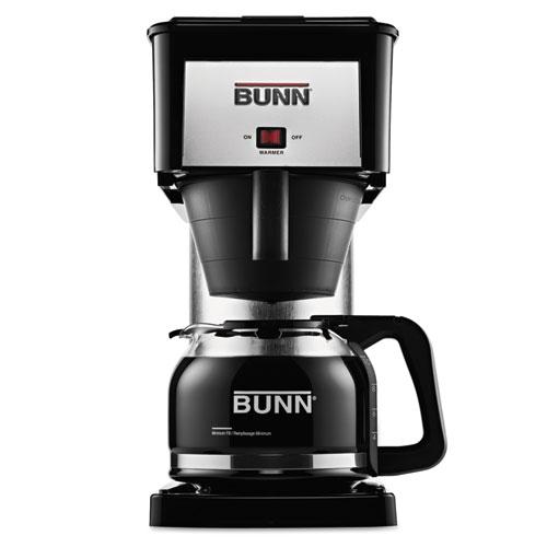 BUNN-O-MATIC BX-B 10-Cup Pour-O-Matic Coffee Brewer, Black