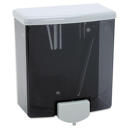 Bobrick Washroom 40 Classicseries Surface-Mounted Soap Dispenser, -Oz, Black/Gray