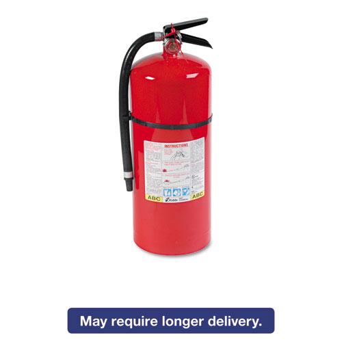 Kidde 466206 Proline Pro 20 Mp Fire Extinguisher, 6-A,80-B:C, 195Psi, 21.6H X 7Dia, 18Lb