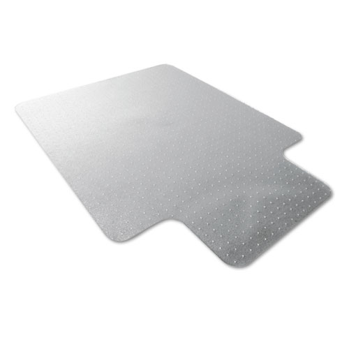 Floortex 118923lr Cleartex Ultimat Polycarbonate Chair Mat For Carpet, 47 X 35, With Lip, Clear at Sears.com