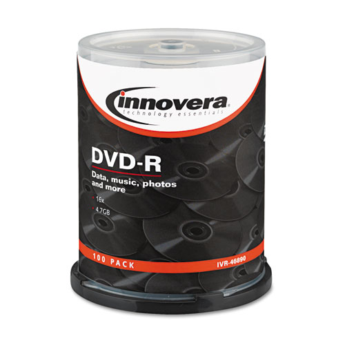 Innovera 46890 Dvd R Discs 4 7gb 16x Spindle