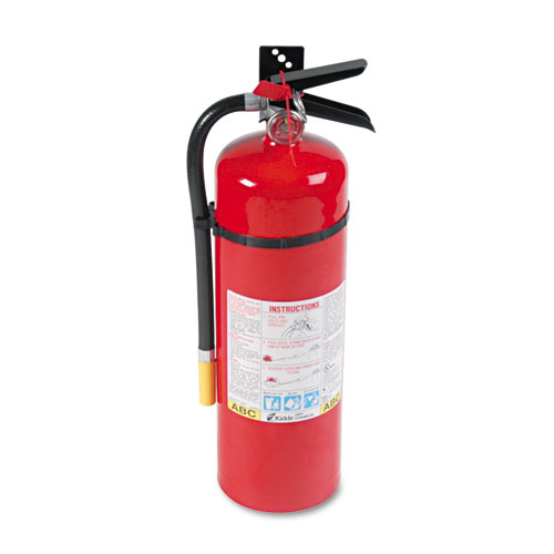 Kidde 466204 Proline Pro 10 Mp Fire Extinguisher, 4-A,60-B:C, 195Psi, 19.52H X 5.21Dia, 10Lb