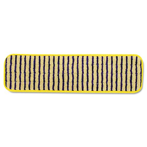 Rubbermaid Q8100yel Microfiber Scrubber Pad, Vertical Polyprolene Stripes, 18 , 6/carton, Yel at Sears.com
