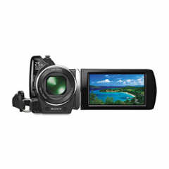 SONY HDR-XR150 HANDYCAM HIGH-DEFINITION CAMCORDER, 120GB HARD DISK DRIVE, 3MP