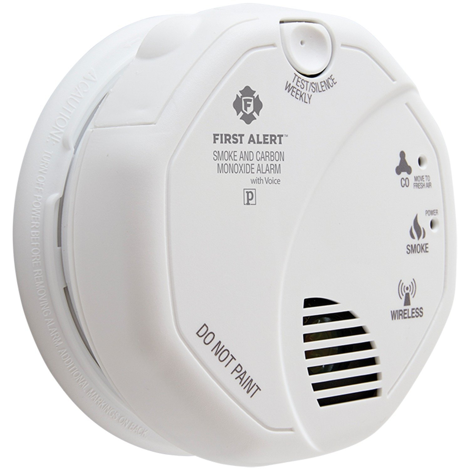 First Alert Smoke and Carbon Monoxide Alarm with Voice